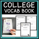 AVID College Week Vocabulary Books