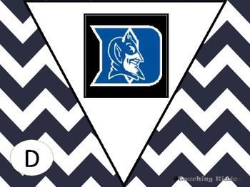 """ AVID "" College logo Pennants"