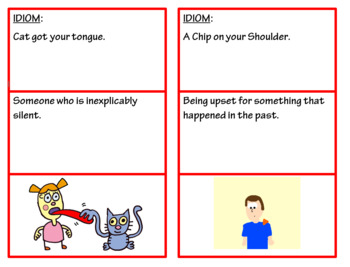 AVID Create Idiom book using Microsoft Word 2016 great for interactive notebooks