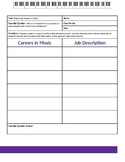AVID Exploring Careers In Music (Two Column Notes)