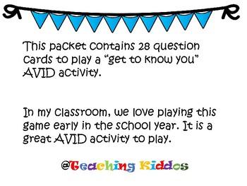 AVID Game Grades 5-12