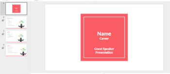 College Prep Guest Speaker