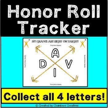 AVID Honor Roll Grades Tracker
