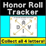 AVID Honor Roll Grades Tracker