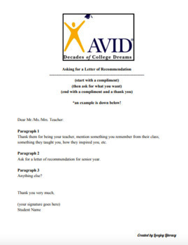 Letter Of Reccomendation Template from ecdn.teacherspayteachers.com