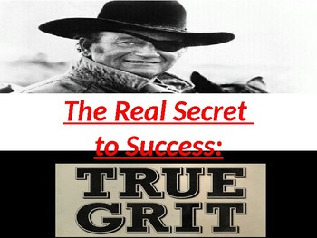 AVID:  Individual Determination and Grit Survey