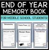 AVID Memory Book- End of Year,  Graduation Yearbook