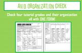 AVID Organization Check