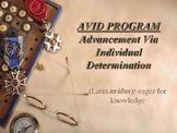 AVID PROGRAM: INTRODUCTION FOR PARENTS