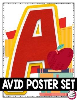 AVID Poster Set
