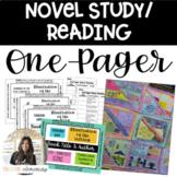 AVID Reading/ELA/Novel Study One-Pager