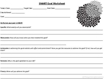 AVID SMART goals ( New Year's Resolutions or SBAC test goals )