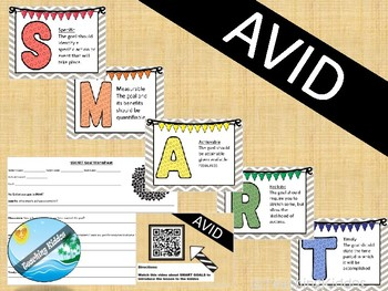 AVID SMART goals ( New Year's Resolutions or test prep goals)