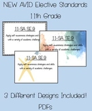AVID Standards (NEW) - 11th Grade