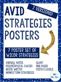 AVID Strategies Poster Set