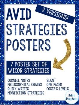 AVID Strategies Poster Set