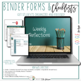 Binder Check Forms & Learning Logs {Google Digital Resource}