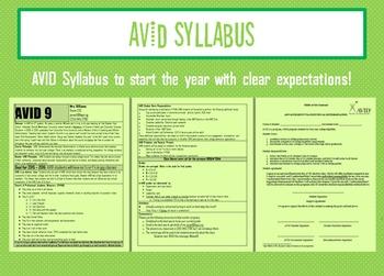 AVID Syllabus