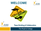 AVID-Team Building & Collaboration-Professional Development