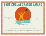 AVID Tutorial Awards