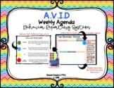 AVID Weekly Agenda Behavior Reporting System