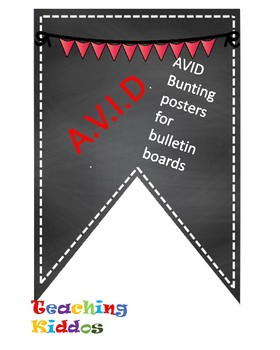 AVID banner- RED LETTERS