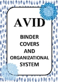 """""""AVID"""" binder covers and organizational system"""