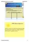 AVID mission statement KWL smart lesson