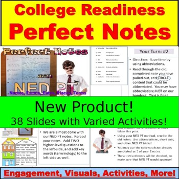 AVID or Any Subject:  Perfect Notes, Activities, Practice