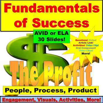 AVID or ELA:  WICOR Activity, Finding Success PowerPoint