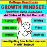 Growth Mindset and Success PowerPoint for avid, underserved learners