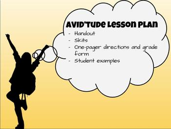 AVID'tude Lesson Plan: Leadership and Attitude for Middle Schoolers
