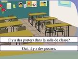 AVOIR + Negation + Classroom Objects Powerpoint