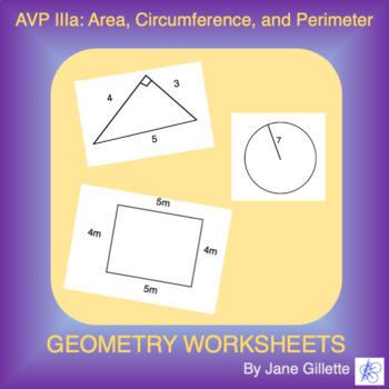 AVP IIIa: Area, Circumference & Perimeter