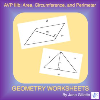 AVP IIIb: Area, Circumference & Perimeter