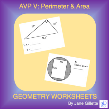 AVP V: Perimeter and Area