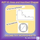 AVP VI: Area of Inscribed and Irregular Shapes