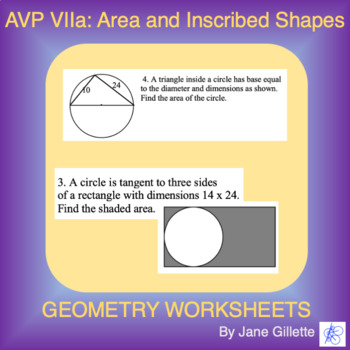 AVP VIIa: Area of Inscribed Shapes