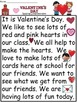 A+Valentine's Day Comprehension: Differentiated Instruction For Guided Reading