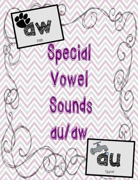 AW AU Special Vowel Sounds