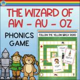 AW AU Game Vowel Digraphs