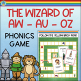 AW AU Game Vowel Digraphs