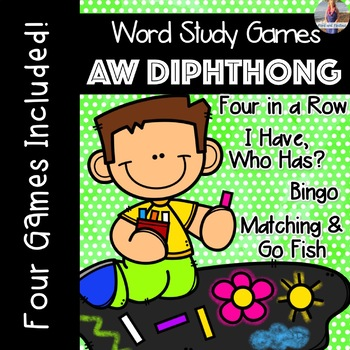 AW Diphthong [[Word Family GAMES!]]