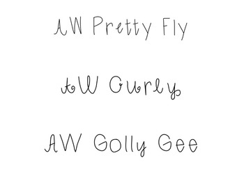 AW Fonts