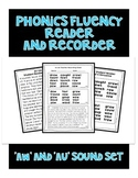 AW and AU Sound - Phonics Fluency Assessment
