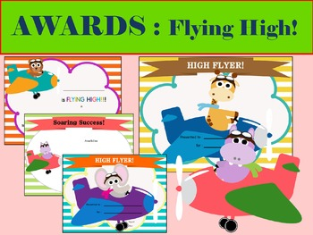 AWARDS and CERTIFICATES: Flying High!
