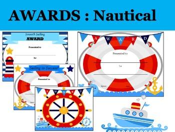 AWARDS and CERTIFICATES: Nautical