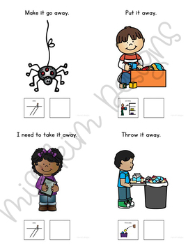 AWAY Core Vocabulary Unit for Teachers of Students with Autism & Special Needs
