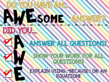 AWE Strategy for Solving Math Word Problems