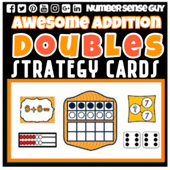 AWESOME DOUBLES ADDITION STRATEGIES CARDS
